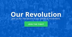 #OUREVOLUTION #SWD #GREEN2STAY  Our political movement continues, and you've just signed up to be a part of it. We'll be in touch via the email you signed up with when we're ready to get to work.  Our Revolution relies entirely on contributions from people like you. Can you pitch in and help fuel this movement?