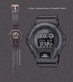 3f890dd5d5c  Casio  GShock GD-X6900HT-1 Black  Heather  Watch from the