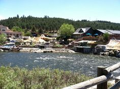 Pagosa Springs Colorado - the hot springs.  THANK YOU Publishers Clearing House for giving me the chance to be on the Prize Patrol and see this beautiful country we live in!