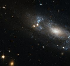 Hubble eyes a loose spiral galaxy
