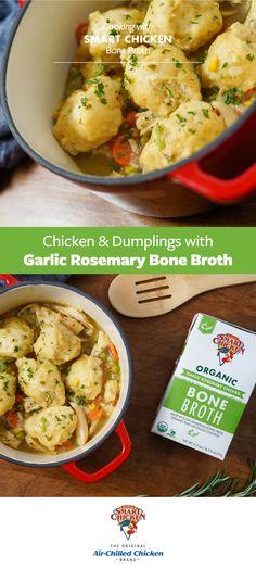 Skillet Recipes, Crockpot Recipes, Soup Recipes, Chicken Recipes, Dinner Recipes, Food Dishes, Main Dishes, Chicken N Dumplings