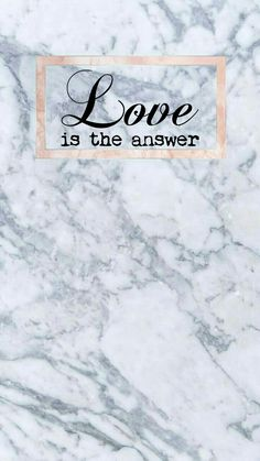 Marble and Rosegold love answer wallpaper HD