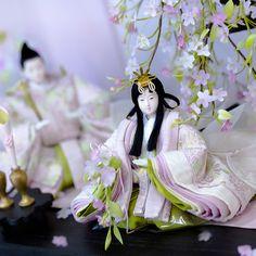 Japanese Culture, Japanese Art, Japanese Doll, Hina Dolls, Art Dolls, Polynesian Art, Heian Period, Doll Display, Asian Doll