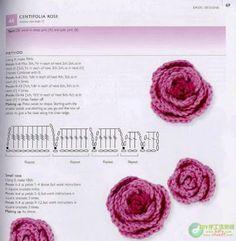Crochet.es.un.arte!: Crochet - 17 esquemas de Flores
