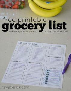 7 Free Printables to Organize Your Life