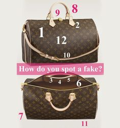 How to Spot a Fake Louis Vuitton Handbag?