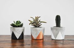 Concrete Planter - Small, by Fox & Ramona