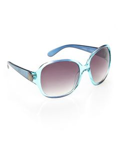 221c695e82c Look what I found on  zulily! Dark Turquoise Starlet Sunglasses   zulilyfinds Jessica Simpson