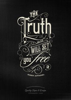 The Truth | Typography