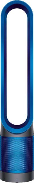Dyson TP01 Pure Cool Tower 172 Sq. Ft. Air Purifier and Fan Iron/Blue 282574-01 - Best Buy Seasonal Allergies, Hepa Filter, Air Purifier, Keep It Cleaner, Cool Things To Buy, Tower, Iron, Pure Products, Dorm Hacks