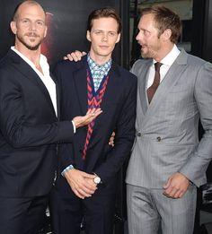 Gustaf, Bill and Alex at It premiere