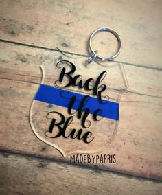 If you have, perhaps you should consider joining your local police force. Monogram Keychain, Diy Keychain, Anchor Monogram, Diy Graduation Gifts, Acrylic Keychains, Christmas Craft Fair, Police Gifts, New Business Ideas, Vinyl Gifts