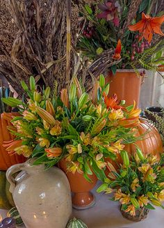 p allen smith garden soil | The alstroemeria and lilies I used are long lasting so I can make the ...