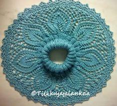 Tilkkuja ja lankaa: Pitsikauluri Knit Crochet, Crochet Hats, Bliss, Crochet Earrings, Crochet Patterns, Knitting, How To Make, Mariana, Knitting Hats