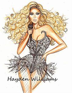 Beyoncé by Hayden Williams