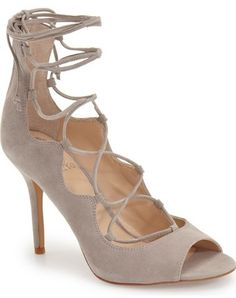 Vince Camuto 'Sandria' Peep Toe Ghillie Sandal (Women) (Nordstrom Exclusive)