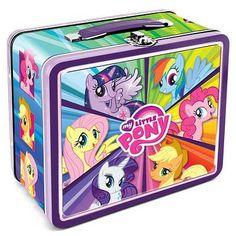 Amazon.com: (7x8) My Little Pony Lunch Box: Home & Kitchen