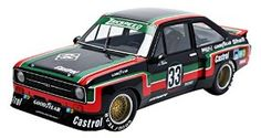 """Click to open expanded view Minichamps 100768433 1:18 Scale """"1976 Ford Escort II RS1800 Castrol ADAC Supersprint DRM"""" Model Car"""