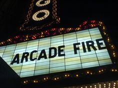Arcade Fire #music #concerts