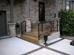 Image Result For Patio Door Step Ideas