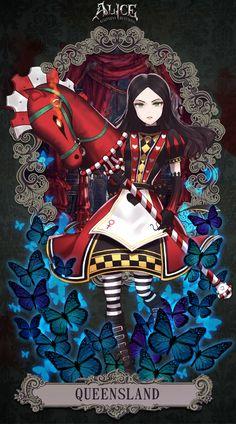 Alice Madness Returns - QUEEN SLAND by Minari23
