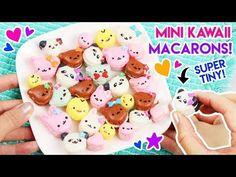 How to Make Mini Kawaii Animal Macarons! – Kawaii Sweet World Mini Macarons Recipe, No Fail Macaron Recipe, Unicorn Macarons, Cute Baking, Kawaii Dessert, Kawaii Plush, Gel Food Coloring, Asian Desserts, How To Make Diy