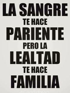 #familia vs #pariente
