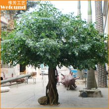 FT0913 factory price artificial banyan tree,ficus tree,cheat artificial trees