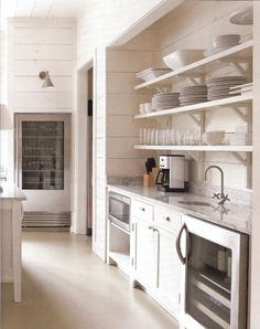 Kay Douglass' kitchen via Atlanta Homes & Lifestyles