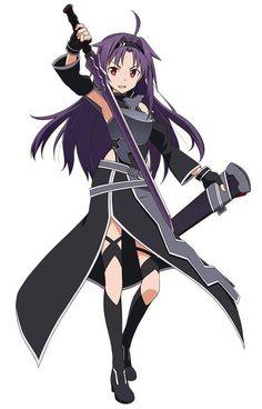 Black themed Yuuki