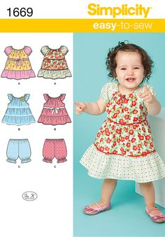 Simplicity Creative Group - Babies' Dress and Separates Little Dresses for Africa