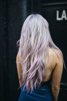 Lavender locks.                                                                                                                                                                                 More