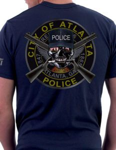 Atlanta is no joke when it comes to fighting crime. This city has known its criminal elements since it was founded. The Atlanta police have equally been ready and always there to fight crime in this great American city. This Atlanta Police Dept Shirt is a subdued LEO shirt design that illustrates the strength and determination of fighting criminals and lawlessness.