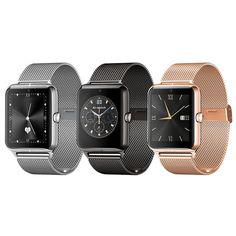 Pulsmesser Bluetooth Smart Watch Armbanduhr Datum Modus Smartwatch Tragbares Gerät Z50 mit NFC G-sensor 0.3MP Kamera //Price: $US $126.49 & FREE Shipping //     #clknetwork