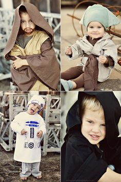 I kind of want 4 boys now so I can dress them all like this for halloween.