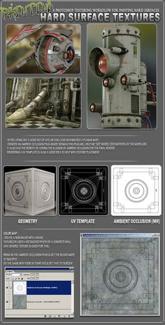 ::LINK:: Hard Surface Texture Painting with Stefan Morrell