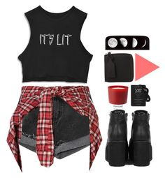 """""""_ITS_LIT_"""" by cryptic-sk8 ❤ liked on Polyvore featuring R13, Acne Studios and Pantone"""
