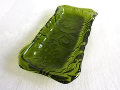 Fern Green Olive Dish by bprdesigns on Etsy
