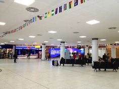 International arrivals completed - Pacific Building