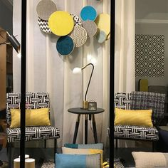 Store Window Displays, Shop Interiors, Rooms, Home Decor, Display Cases, Tapestry, Arredamento, Curtains, Home Decoration
