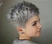 Damen undercut grau kurzhaarfrisuren Kurzhaarfrisuren Für
