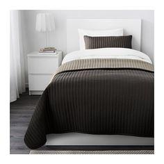 KARIT Couvre-lit et 2 housses coussin - 180x280/40x65 cm - IKEA