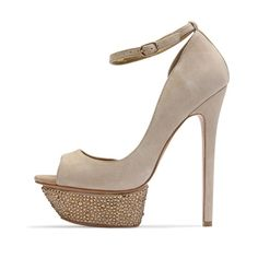 Benjamin Adams Toronto Beige - Wedding Shoes - Crystal Bridal Accessories