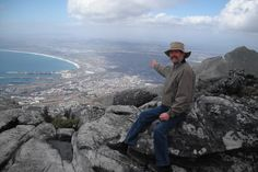 Hugh Duff above Cape Town. A good man to know.