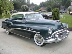 Super Buick Riviera - 1952