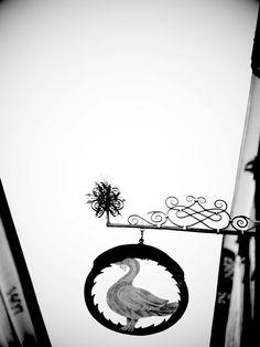 seit 660 Jahren Salzburgs ältetstes Gasthaus. arthotel Blaue Gans, Getreidegasse Salzburg. www.blauegans.at Salzburg, Celestial, Signs, Outdoor, Blue, Outdoors, Shop Signs, Outdoor Games, The Great Outdoors
