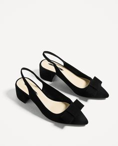 HIGH HEEL BACKLESS SHOES - View all-SHOES-WOMAN | ZARA Finland
