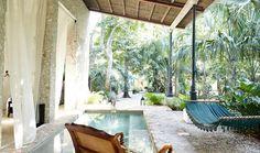 Coqui Coqui La Perfumeria is a one-room retreat tucked in the Yucatan Magic Town of Valladolid.   http://www.journeymexico.com/hotel/coqui-coqui-valladolid