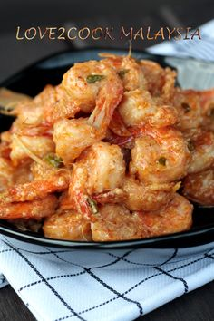 ♥ LOVE2COOK MALAYSIA♥: ♥...Hot & Spicy Mayonnaise Prawn Fry...♥