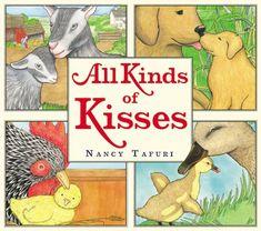 All Kinds of Kisses by Nancy Tafuri http://www.amazon.com/dp/0316122351/ref=cm_sw_r_pi_dp_pQYdub116CMEQ